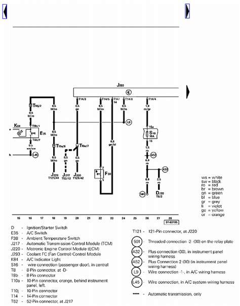 2000 vw beetle cooling fans wiring diagram 2006 mitsubishi