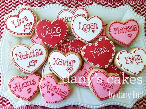 custom valentines personalized valentines cookie connection