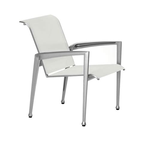 Aluminum Sling Patio Furniture by Veer Sling Patio Dining Chair With Aluminum Frame
