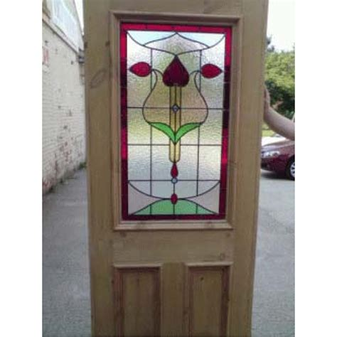 Stained Glass Interior Doors Sd001 Original Nouveau Stained Glass Exterior Interior Door