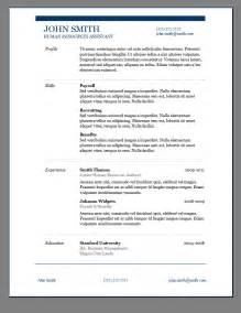 Free Resume Format by Primer S 6 Free Resume Templates Open Resume Templates