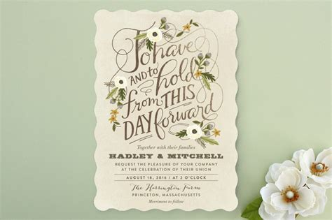 most beautiful wedding invitations the most beautiful fall wedding invitations