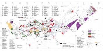 Campus map tutor corps texas state university