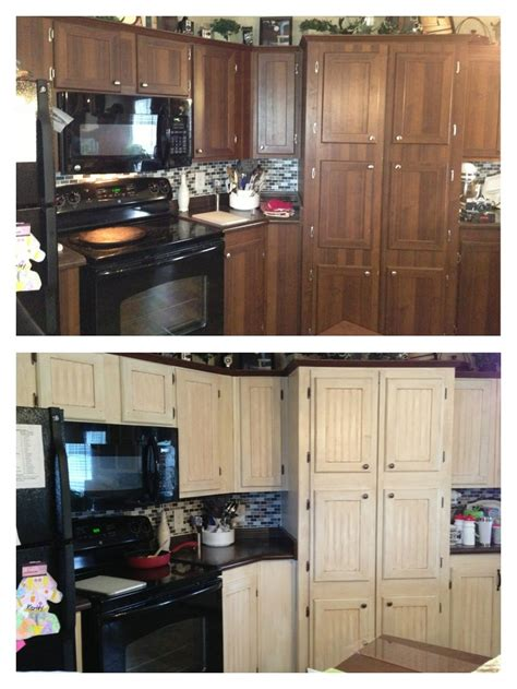 kitchen cabinet makeover backsplash