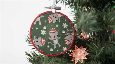 embroidery ornaments embroidery hoop ornament professor pincushion