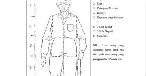 cara soal psikotes menggambar manusia dengan benar jawaban soal psikotes