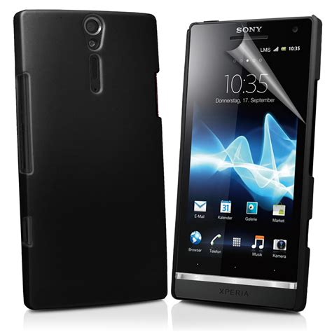 Custom Softcase Hardcase Sony All Type Termurah hybrid back cover for sony ericsson xperia s lt26i screen protector ebay