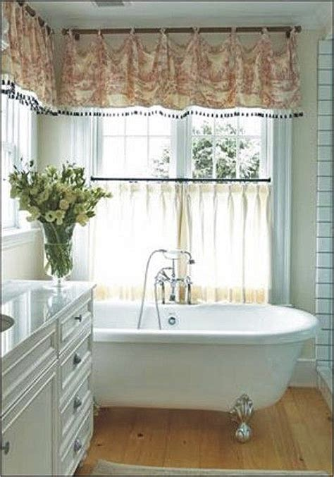 bathroom window valance 7 bathroom window treatment ideas for bathrooms blindsgalore