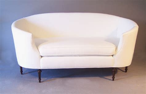 canap駸 sal駸 7869 19th c louis xvi style kidney shape canape for sale