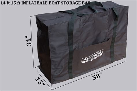 inflatable boat carry bag storage bag for 14 ft 15 ft inflatable boat