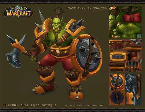 Lining Wow 2 0 Warrior Original skargul grimgut wow fanart by hazardousarts on deviantart