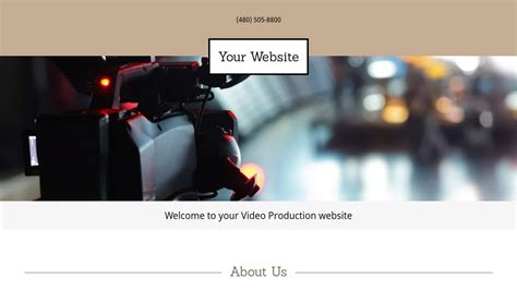website templates for video production company video production website templates godaddy