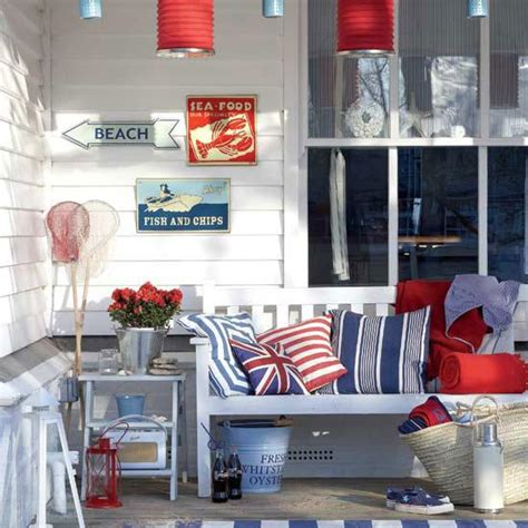 red white and blue home decor modern interior decorating with british symbols 30
