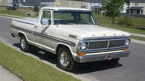 1970 Ford F100 For Sale by 1970 Ford F100 2wd Regular Cab For Sale Near Summerville