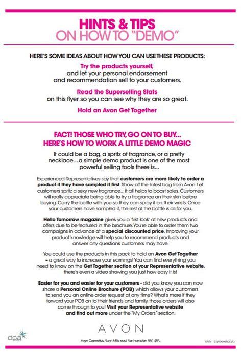 Rising Stars Incentive For New Avon Representatives Avon Recruiting Templates
