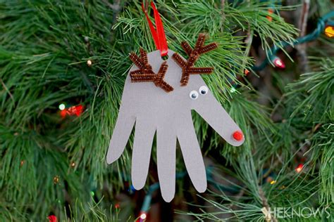 child made christmas ornaments 23 cool diy tree decorations to make with kidsomania