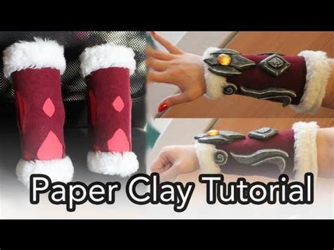 How To Make Paper Clay - necroticnymph n1njag1rl i made a paper clay