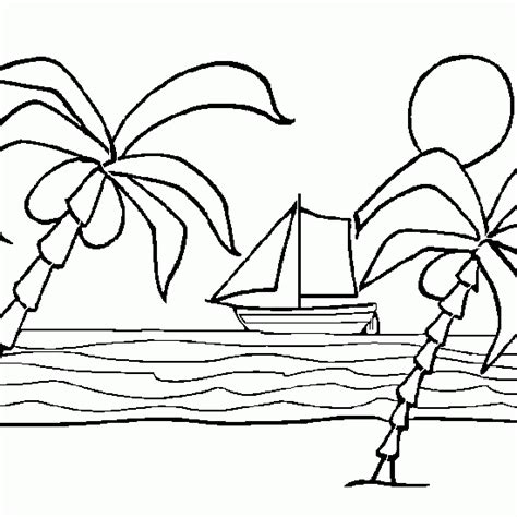 imagenes de vacaciones para imprimir dibujo de las vacaciones de verano junto al mar dibujos