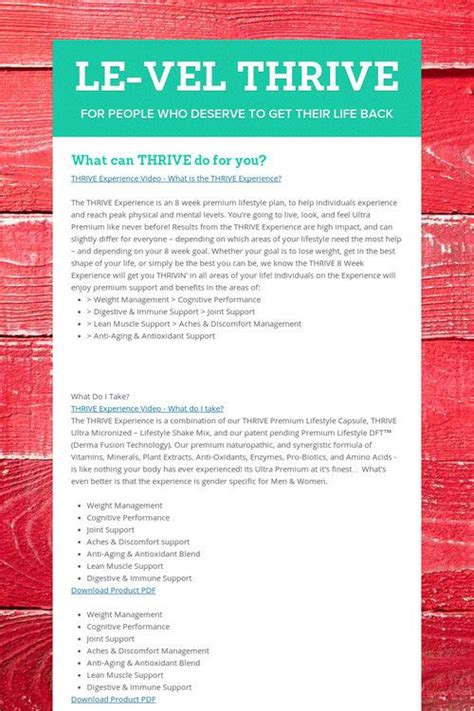 Le Vel Thrive Products The Thrive Experience Le Vel | best 25 thrive patch ideas on pinterest level thrive