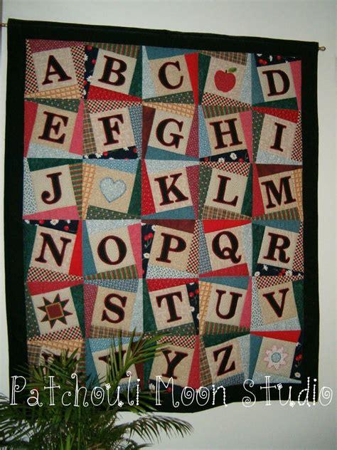 quilt pattern alphabet patchouli moon studio alphabet quilt pattern