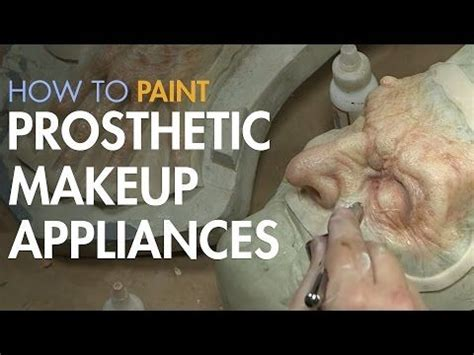 foam latex tutorial youtube prosthetic makeup latex and appliances on pinterest