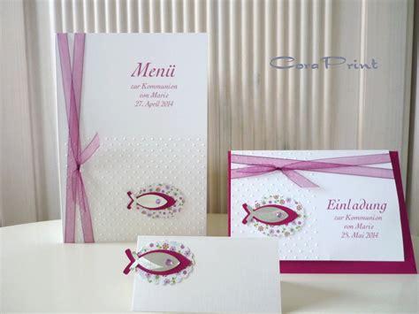 Hochzeitskarten Selber Drucken by Einladungskarten Kommunion Einladungskarten Kommunion