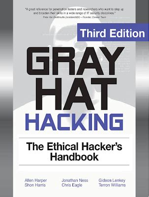 ebook: gray hat hacking the ethical hackers hand book 3rd