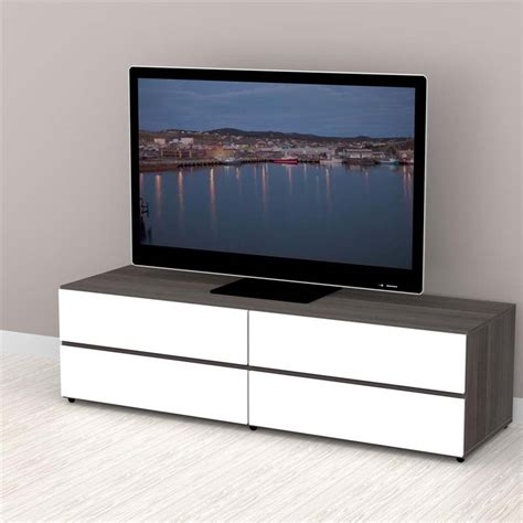 Tv Stand With Doors And Drawers by Nexera Collection 60 In Tv Stand With 2 Drawers