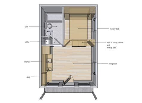 home design 6 x 20 14 x 20 interior space ideas tiny house design