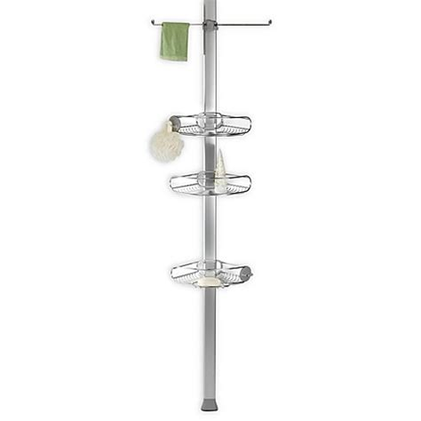 shower caddy bed bath and beyond buy simplehuman 174 stainless steel tension shower caddy from
