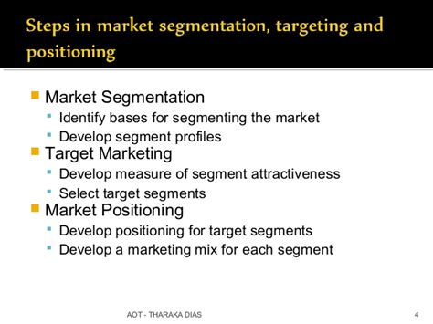 Market Segmentation Targeting And Positioning Mba Notes by 02 Stp 7 Ps To Branding