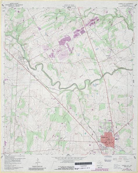 karnes city texas map karnes county map