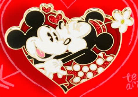 mickey valentines day mickey minnie s day pin disney pins