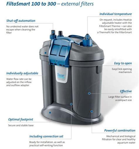 Up External Filter Multi Function D Ex 600 oase filtosmart 100 external filter aquariums water garden uk