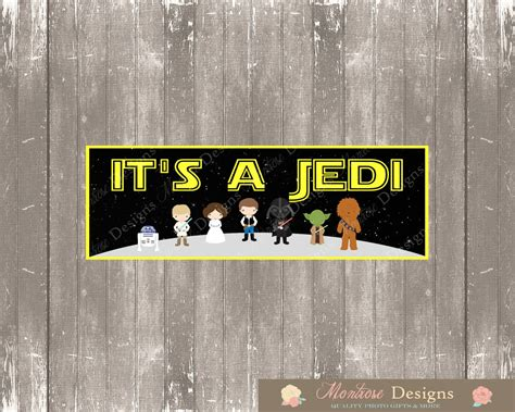 Wars Baby Shower by Wars Baby Shower 2ft X 6ft Banner It S A Jedi