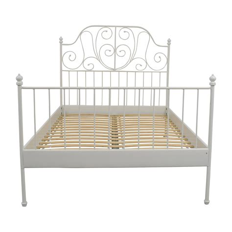 ikea bedframes white ikea bed frame leirvik frame design reviews