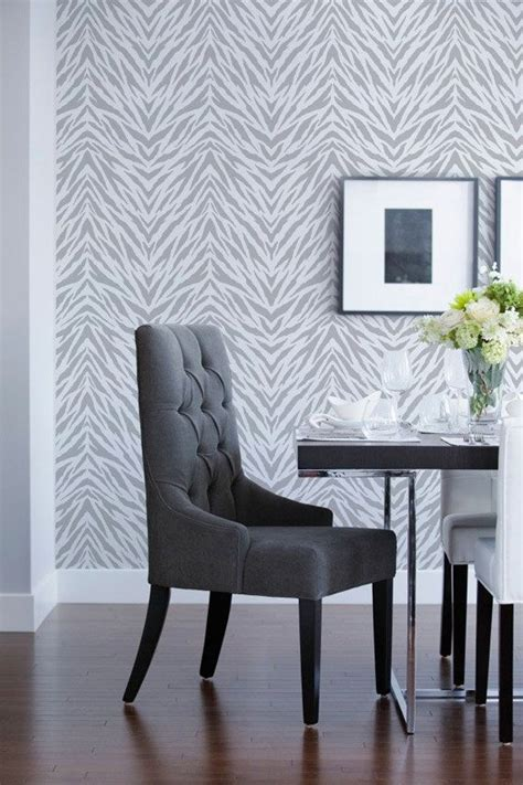 zebra pattern on wall large wall pattern stencil zebra stripes animal print