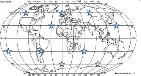 printable quiz on latitude and longitude world longitude and latitude printable worksheet