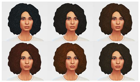 african cc hair for sism4 luumia sims