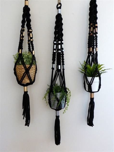 How To Make Plant Hangers Macrame - dreamcatcher designs macrame plant hangers for your home
