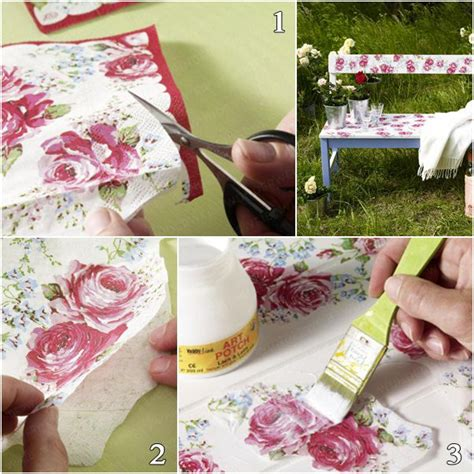 Easy Decoupage Ideas - garden decorating ideas on a budget easy diy projects for