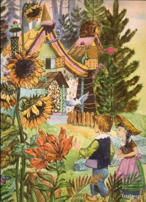 hnsel et gretel hansel et gretel illustration de cremonini image illustrations