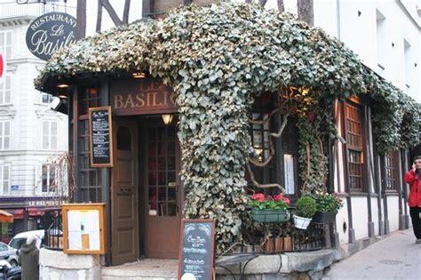 basilic cuisine le basilic 33 rue lepic montmartre restaurant