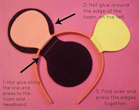 How To Make Mickey Mouse Ears Out Of Paper - for foam mouse ears need this for
