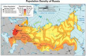 russia population map 2013 russia population map my