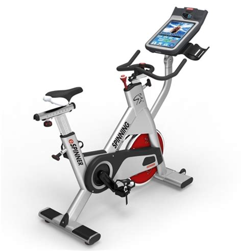 spinning cycling house trac espinner interactive spin bike gymstore