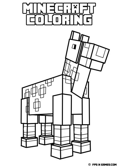 Minecraft Coloring Pages Az Coloring Pages Minecraft Coloring Pages To Print