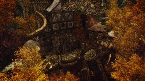 skyrim best house house for witches and druids mielikki at skyrim nexus