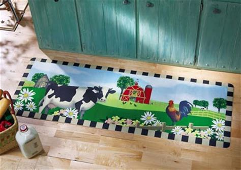 cow kitchen rug collections etc find unique gifts at collectionsetc