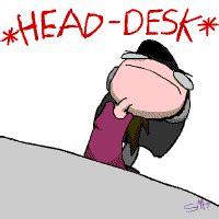banging head on desk banging head on desk clipart 4